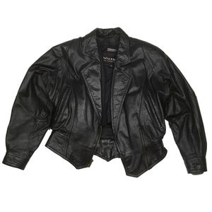 Wilsons Leather Bomber Biker Jacket Womens Small